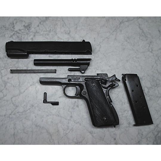 Denix Colt 1911-A1 replica pistol with Double Diamond - grips